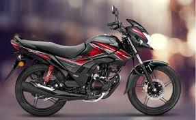 black honda shine sp 125cc bike rs