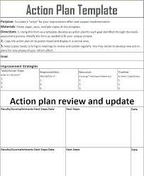 Action Plan Templates Word Amazing Simple Action Plan Template Maggio