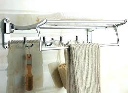 bath towel hook. Beautiful Bath Towel Hook Ideas Bathroom Hooks Bath Rail Swivel Shelf  With Robe Another Promising Solution O