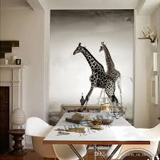 wallpaper for office wall. Custom Animal Wallpaper For Walls 3D Giraffe Photo Landscape  Mural Room Decor Bedroom Corridor Office Office Wall