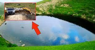 Dipsiz Göl'ün kurumasına neden olan kazı çalışması sonrası, sorumlular  açığa alındı - Haberler