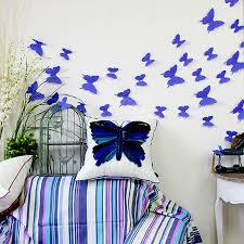 12pcs hot wonderful art design decal wall sticker