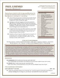 Beautiful Picture Framing Resume Examples Photos The Best