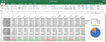 Budget Tracking Template Enchanting How To Make A Spreadsheet In Excel Word And Google Sheets Smartsheet