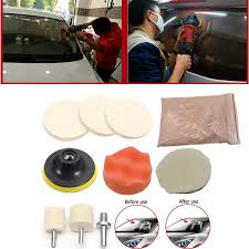 details about car windshield front rear window glass polishing scratch removal repair tool kit