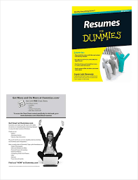 Resumes For Dummies 6th Edition Free Sample Chapter Free Wiley