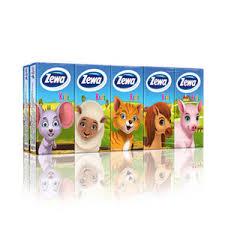 <b>Zewa платки носовые детские</b> 10 шт купить по цене 127,0 руб в ...
