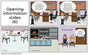 school nutrition storyboard by sarahale