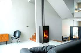 modern stand alone fireplace modern stand alone fireplace