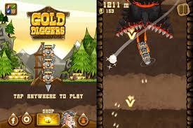 gold diggers is an endless runner