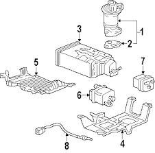 parts com® honda emission system emission components sensor laf 2005 honda odyssey ex l v6 3 5 liter gas powertrain control