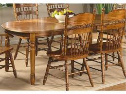 Chair Dining Room Furniture Rochester Ny Jack Greco Oak Dining - Amish oak dining room furniture