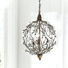 pottery barn crystal chandelier pottery barn adele crystal chandelier