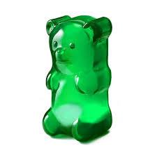 Light Gummy Bears Blue Gummy Bear Lights Gummy Bears Kids Decor Bear Design