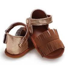 <b>TipsieToes</b> Brand Quality Leather Kids Children Moccasins Sandals ...
