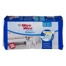 Wee Wee Diapers Size Chart Four Paws Wee Wee Disposable Diapers Small 12 Ct 12 Ct