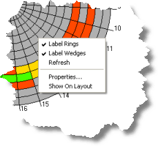 Data Clock Chart Changing The Properties Of A Data Clock Help Arcgis For