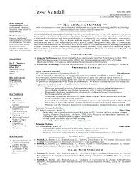 Chemical Engineer Resume Delectable Mechanical Engineer Cv Template Meicysco
