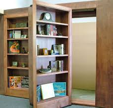 HIDDEN BOOKCASE DOOR ~ Yes, it might be thousands of dollars to install,  but do you know how AWESOME a secret door would be to have?