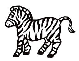 Small Picture Free Coloring Pages Zebra gallery for zebra face coloring page