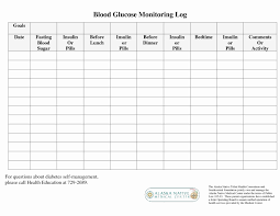 Blood Sugar Monitoring Log Blood Sugar Tracking Chart Elegant Blood Glucose Log Sheet Luxury