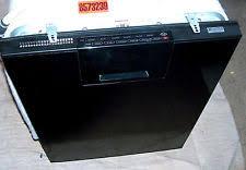 kenmore black dishwasher. kenmore elite mod 665.13169k701 black \u0026 silver interior dishwasher works great