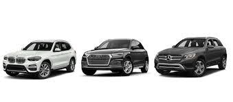Bmw Vs Audi Vs Mercedes Benz Model Comparisons