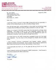 Letters Of Recommendation Jmw Construction Corp