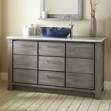60 single sink bathroom vanity. Bathroom Vanities Single Sink Beautiful 60\u0026quot; Venica Teak Vessel Vanity Gray Wash 60