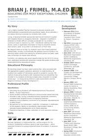 Long Term Substitute Teacher Resume Awesome Substitute Teacher Resume Samples VisualCV Resume Samples Database
