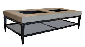 architecture stunning padded coffee table