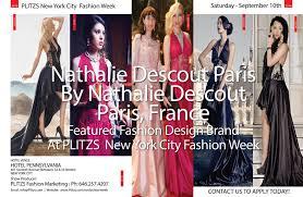 Trademark Fashion Design Nathalie Descount Showcases Her Brand At Plitzs New York