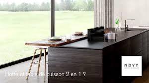 Novy Panorama Hotte Et Table De Cuisson 2 En 1 Youtube