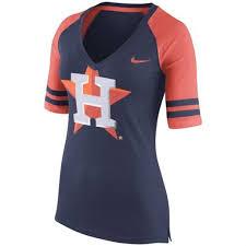 under armour astros. nike houston astros women\u0027s navy blue logo v-neck t-shirt under armour e