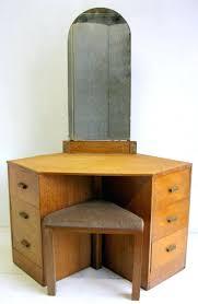 Corner Vanity Table Corner Dressing Table With Mirror Corner Vanity Table  With Drawers