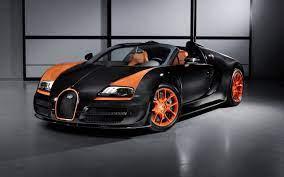 Voertuigen geïnspecteerd, gegarandeerd en geleverd in parijs of voor u. Papeis De Parede Bugatti Veyron Supercar Preto E Laranja 2560x1600 Hd Imagem