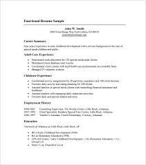 Functional Resume Builder Gallery of Free Functional Resume Template 76