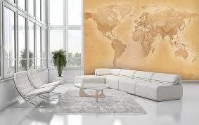 world map old map wallpaper mural