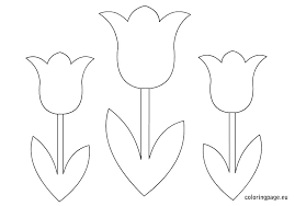 Spring Flower Template Free Printable Flower Template Small Download Them Or Print Free