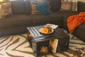 crate coffee table picture