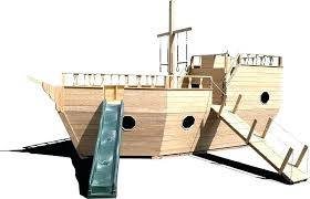 boat playhouse wood pirate ship ships west wooden outdoor cardboard riverboat old
