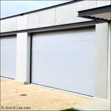 flush panel garage doorContemporary Flush Panel Overhead Sectional Door  Contemp Smooth