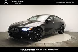 All versions also adopt the mbux infotainment system that incorporates augmented reality and eliminates the. New 2021 Mercedes Benz Amg Gt Amg Gt 53 4 Door Coupe For Sale In Fairfield Connecticut Ma036731 Penskecars Com