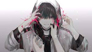 Hasil gambar untuk anime boy cool wallpaper seni anime orang animasi gambar manga. Wallpaper Headphones Anime Boy Cool