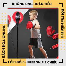 bộ đồ chơi đấm bốc cho bé, bộ đấm bốc boxing cho bé luyện tập phản xạ giá  cạnh tranh