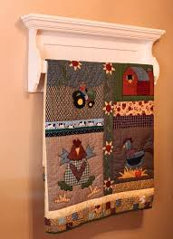 16 best images about Quilt racks on Pinterest & Quilt (rack) Shelf by dustinshelves on Etsy, Adamdwight.com