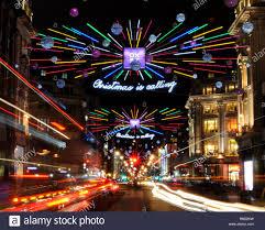 Christmas Lights St Albans 2018 2018 Christmas Lights Along Oxford Street Toward Oxford