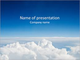 Blue Sky Powerpoint Template Infographics Slides
