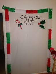 Christmas Booth Ideas Xmas Ugly Sweater Party Backdrop For Diy Photo Shoot Needing Ideas