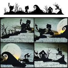 The halloween town center is as the name implies, the center of halloween town. Nightmare Before Christmas Halloween Town Diy Stand Up Paper Etsy